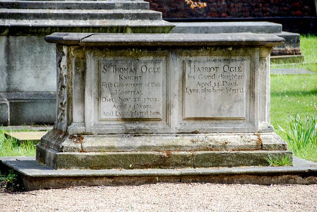 Graveyard of the Chelsea hospital