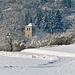 P1080542- L'église de Corcelles - Raquettes dans les Loups   25 janvier 2014