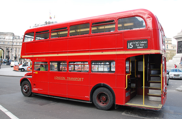 Routemaster on line number 15