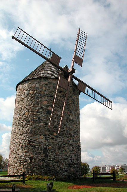 Windmill in Quebec (Canada)