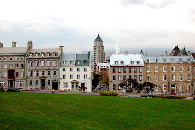 View of Quebec City from the Citadel