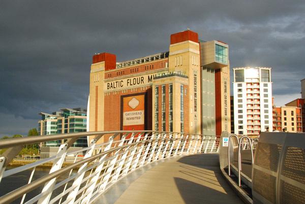 Baltic Arts Centre from Millenium Bridge