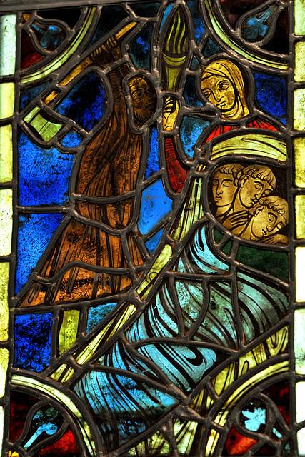 Vie de St-Nicolas (XIIIe s.) - Musée d'Evreux