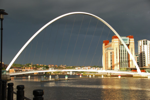 Storm brewing over the Tyne