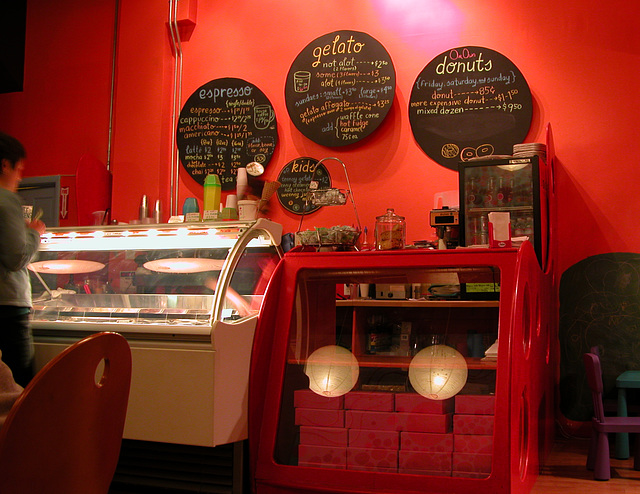 Staccato Gelato ice cream shop in Portland, Oregon