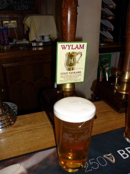 A pint of Wylam