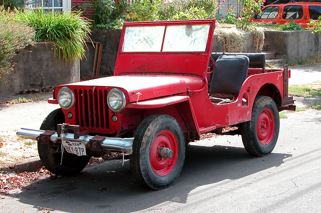 Cars of Portland: Jeeplet