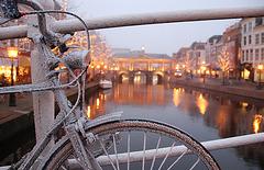 Hoar-frost in Leiden