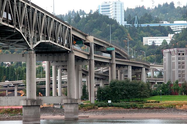 Bridge ending in spaghetti