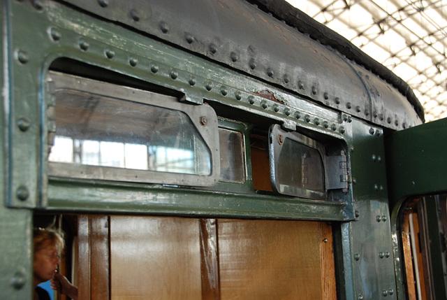 Celebration of the centenary of Haarlem Railway Station: Old ventilation windows