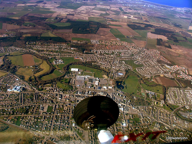 Elgin, Moray - Aerial