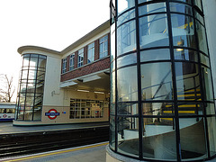 east finchley underground station, london
