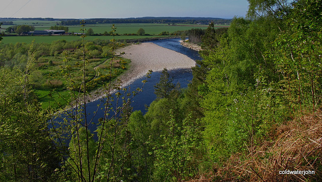 The Spey valley from Ordequish