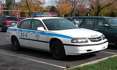 Montreal Police Car