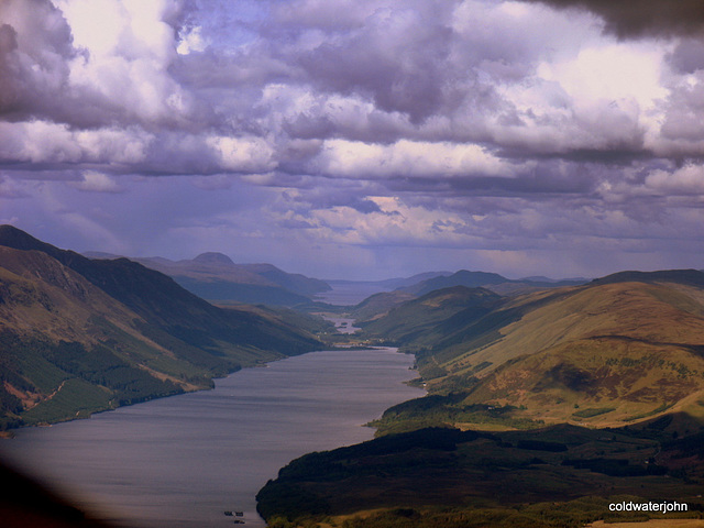 Storm Clouds over the Great Glen