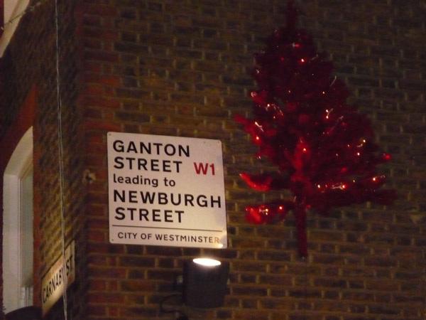 Ganton Street W1
