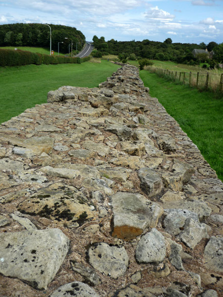 Roman wall at Heddon