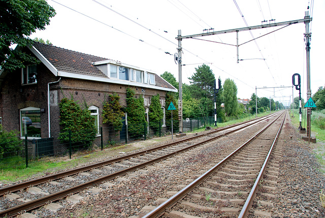 The former station of Bloemendaal