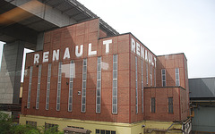 Train journey to London: Renault works at Brussels