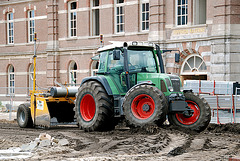 Renovation project Ripperda – Fendt tractor