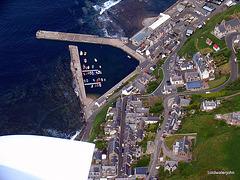 Gardenstown Harbour - Aerial
