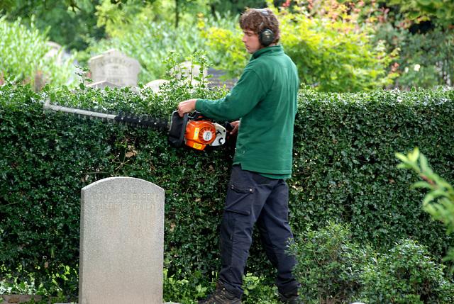 Kleverlaan Cemetery in Haarlem – Maintenance