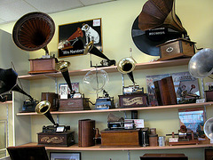 Visited a gramophone shop in Haarlem