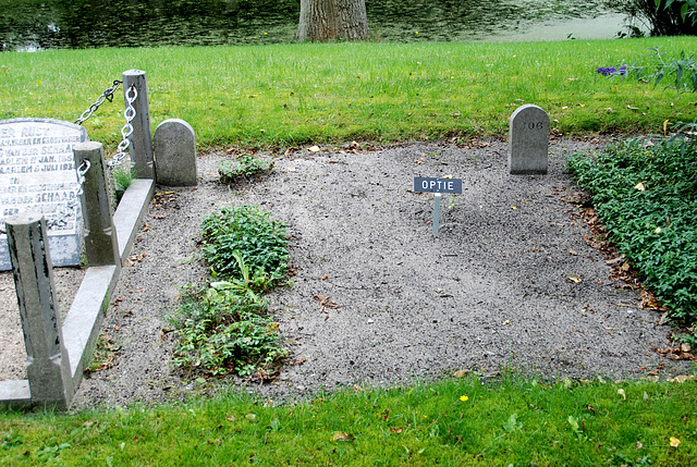 Kleverlaan Cemetery in Haarlem – Option on death
