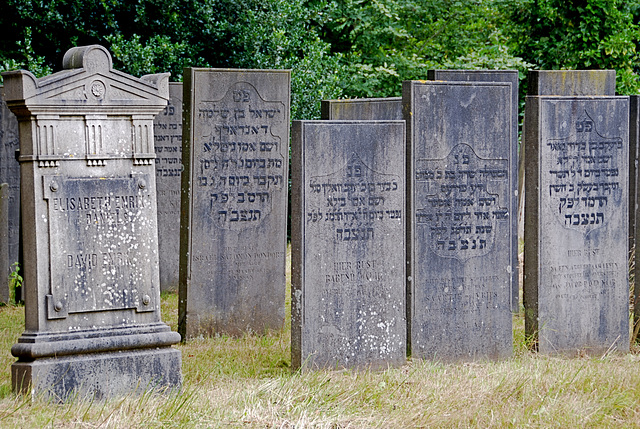 Kleverlaan Cemetery in Haarlem – Jewish section