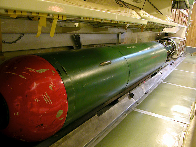 One of our Royal Navy's torpedoes