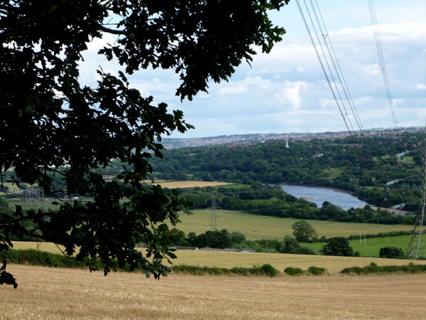 Across the Tyne valley