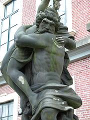 Poseidon displaying socially unacceptable behaviour