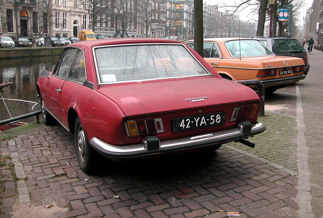 1973 Peugeot 504 Coupe & 1977 Mercedes-Benz 250