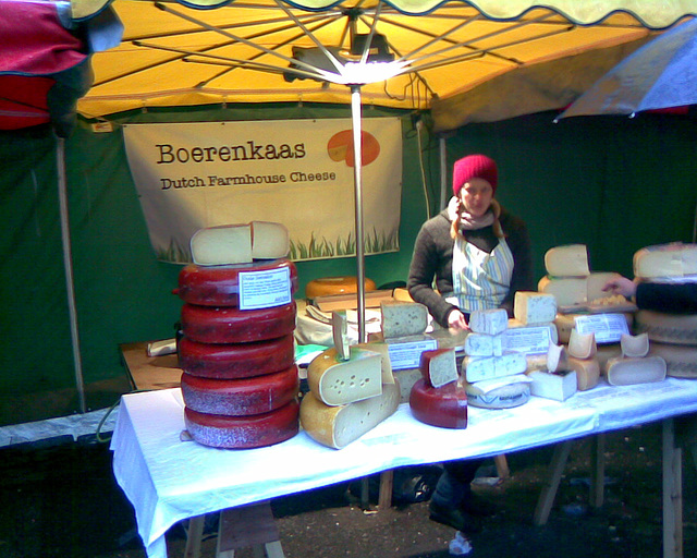 Borough Market: Dutch cheese