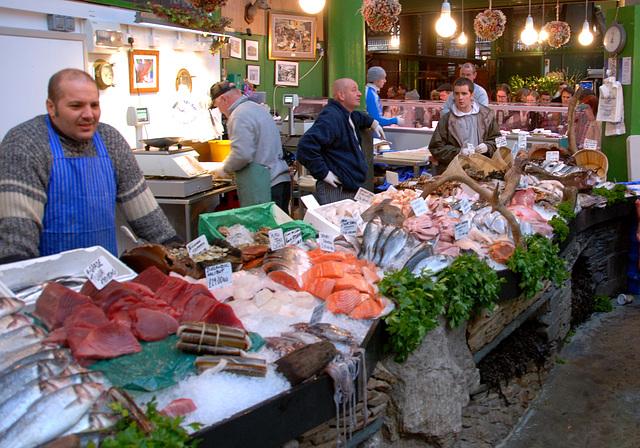 Borough Market: Fishmongers