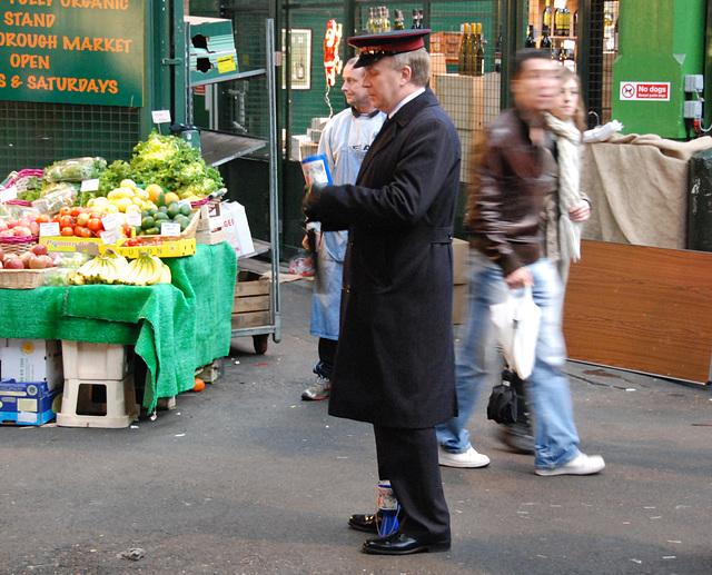 Borough Market: Salvation Army