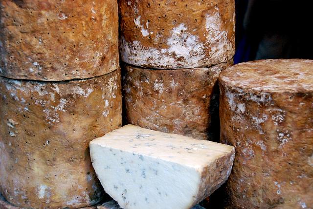 Borough Market: Stichelton cheese