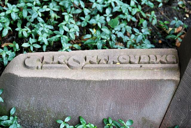 Kleverlaan Cemetery in Haarlem – Teetotalism