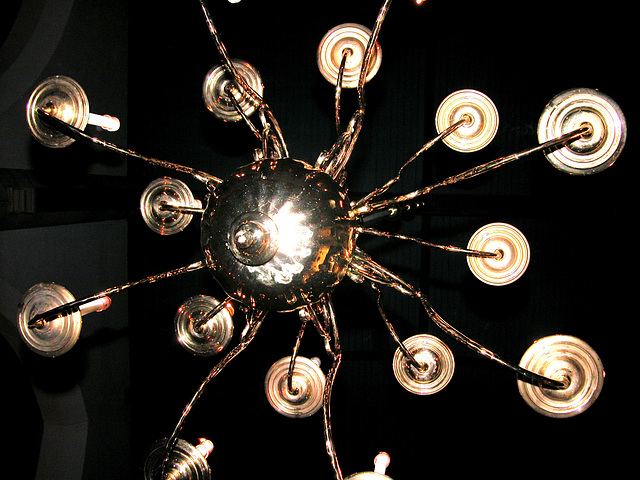 Chandelier in the Kloosterkerk (Cloister Church) in The Hague