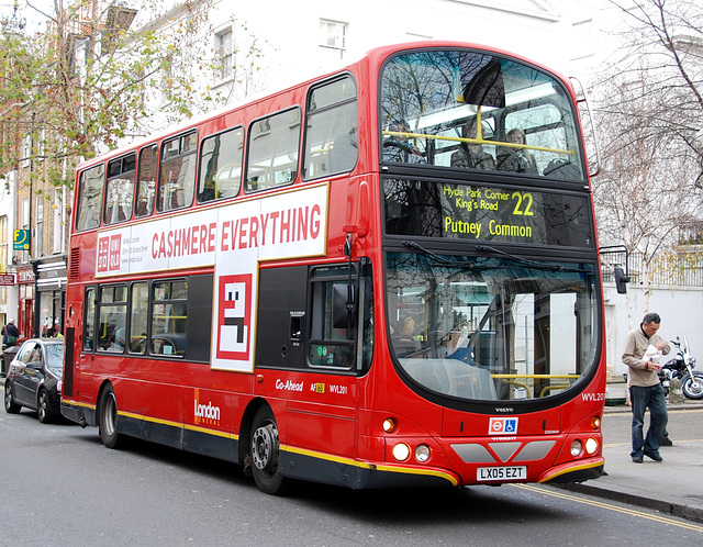 No. 22 Bus on the King's Road