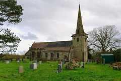 St Ediath's, Church Eaton