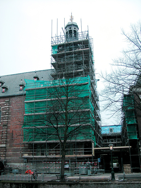 The Academy Building is being renovated