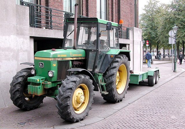 John Deere comes to town