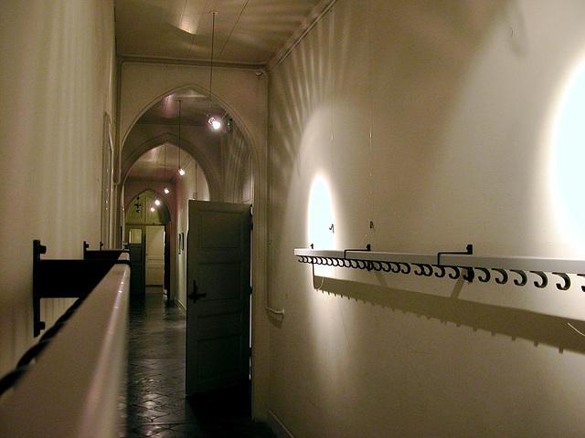 Corridor of the Kloosterkerk (Cloister Church) in The Hague