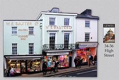 Lewes - 34 - 36 High Street - 19.2.2014