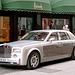 Rolls-Royce in front of Harrods