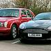 2001 Bentley & 2006 Aston Martin DB9 Volante