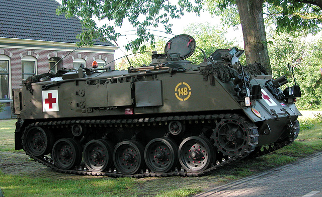 Oldtimer Day Ruinerwold: Armored Personnel Carrier