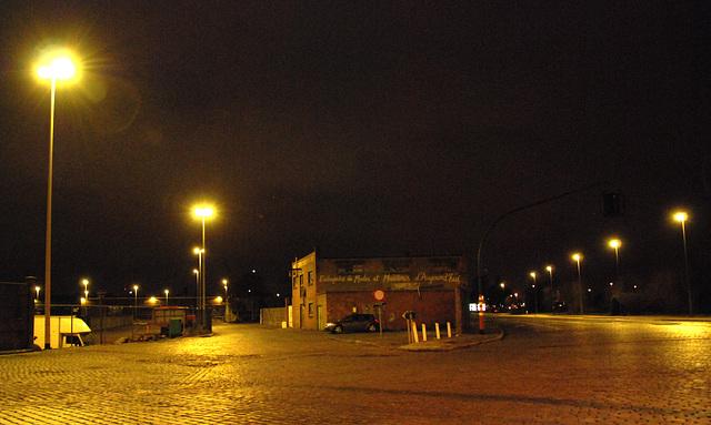 In the harbour area of Antwerp: Entreprise de Modes et Manieres d'Aujourd'hui