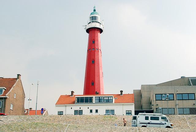 Lighthouse of Scheveningen (the Netherlands)